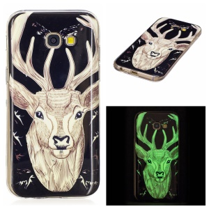Noctilucent TPU Case Cover for Samsung Galaxy A5 (2017) SM-A520F - Elk
