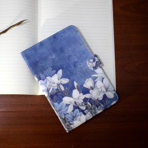 Stand Wallet Leather Shell for Samsung Galaxy Tab A 7.0 T280 T285 - Blooming Flowers