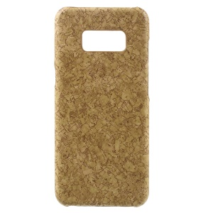 Marble Texture Thin PU Leather Coated PC Back Cover for Samsung Galaxy S8 -