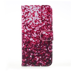 Flip PU Stand Leather Wallet Flip Cover Case for Samsung Galaxy S8 - Sequins