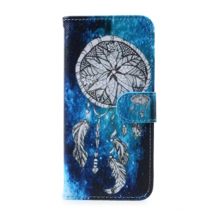 Printing Pattern Wallet Leather Phone Casing for Samsung Galaxy S8 - Dream Catcher