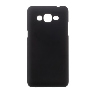 Rubberized Hard PC Case for Samsung Galaxy J2 Prime/Grand Prime Plus/Prime (2016) - Black
