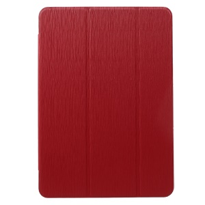Toothpick Grain Tri-fold Stand Leather Cover for Samsung Galaxy Tab S3 9.7