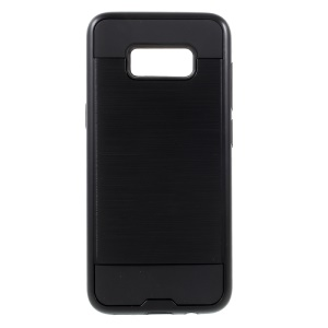 Brushed PC + TPU Combo Case for Samsung Galaxy S8+ SM-G955 - Black