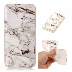 IMD Marble Texture TPU Back Cover for Samsung Galaxy A5 (2017) - Style C