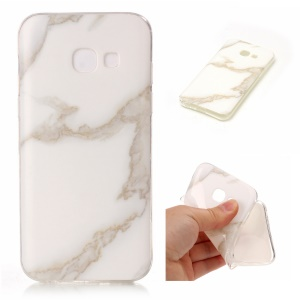 Soft TPU IMD Marble Cell Phone Shell for Samsung Galaxy A5 (2017) - Style H