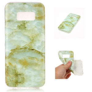 Marble Phone Case Soft IMD Pattern TPU Shell for Samsung Galaxy S8 G950 - Style A