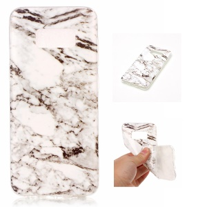 IMD Marble Pattern TPU Mobile Cover for Samsung Galaxy S8 G950 - Style C
