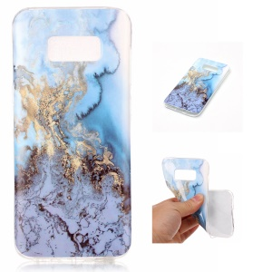 IMD Marble Skin TPU Soft ProtectiveCase for Samsung Galaxy S8 G950 - Style F