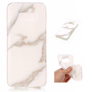 Soft TPU IMD Marble Cell Phone Case for Samsung Galaxy S8 G950 - Style H