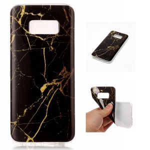 Soft TPU IMD Marble Pattern Case Accessory for Samsung Galaxy S8 G950 - Style I