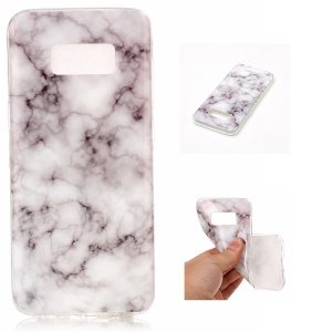 For Samsung Galaxy S8 G950 IMD Marble Pattern TPU Flexible Cover Case - Style J