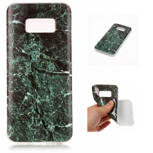 For Samsung Galaxy S8 G950 IMD Marble Pattern TPU Back Case - Style K
