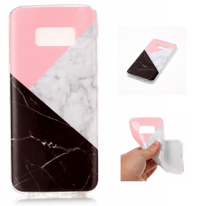 IMD Marble Pattern Back Shell Case (TPU) for Samsung Galaxy S8 G950 - Style N