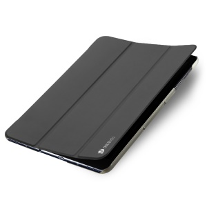 DUX DUCIS Skin Pro Series Tri-fold Smart Leather Case Stand for Samsung Galaxy Tab S3 9.7-inch - Grey
