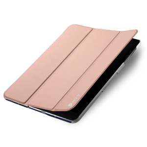DUX DUCIS Skin Pro Series Tri-fold Smart Leather Cover for Samsung Galaxy Tab S3 9.7-inch - Rose Gold