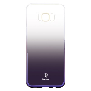 BASEUS Glaze Gradual Color Changing PC Hard Case for Samsung Galaxy S8 Plus G955 - Black