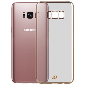 MOMAX Splendor Plated Hard PC Case for Samsung Galaxy S8+ SM-G955 - Gold