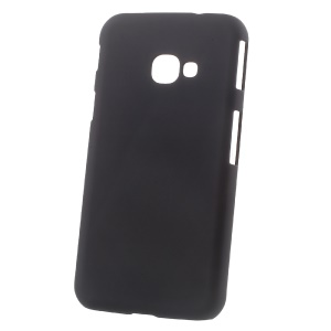 Rubberized Hard Plastic Case for Samsung Galaxy Xcover 4s / Xcover 4 - Black