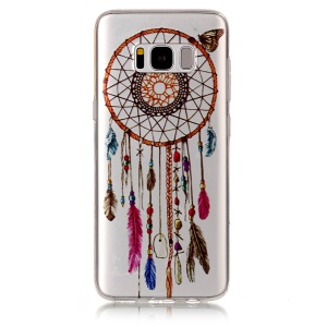 IMD Pattern TPU Gel Cover Case for Samsung Galaxy S8 G950 - Dream Catcher