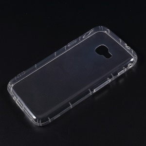 Drop-proof Clear TPU Phone Case for Samsung	Galaxy Xcover 4 - Transparent