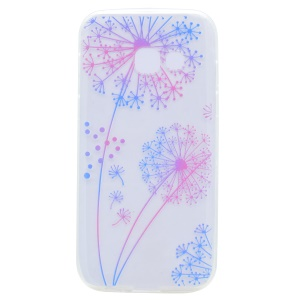Pattern Printing Soft TPU Protection Phone Casing for Samsung Galaxy A5 (2017) SM-A520F - Dandelions