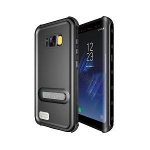 REDPEPPER IP68 Waterproof Case with Kickstand for Samsung Galaxy S8 Plus G955 - Black