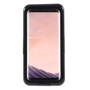 Waterproof IP68 Neoprene + Plastic Phone Cover for Samsung Galaxy S8 G950 - Black