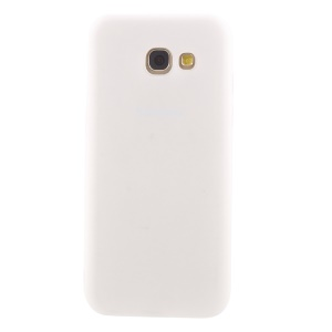 Frosted Anti-fingerprint TPU Phone Case for Samsung Galaxy A3 (2017) - White