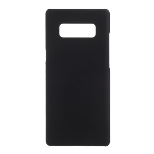 Rubberized PC Hard Shell for Samsung Galaxy Note 8 - Black