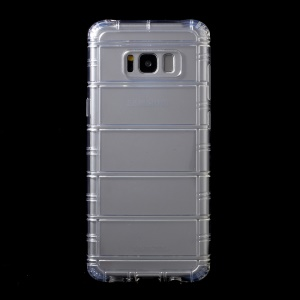 WUW K80 Crystal Clear TPU Cool Mobile Phone Cover for Samsung Galaxy S8 Plus SM-G955 - Transparent
