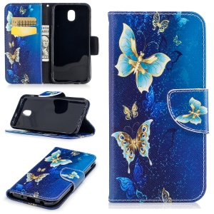 Gold and Cyan Butterfly
