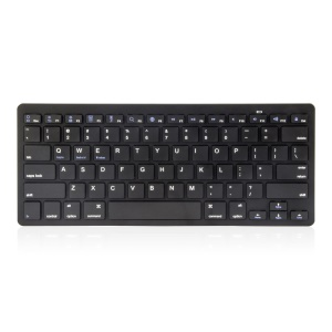 Wireless Bluetooth 3.0 Keyboard Appk78 for iPhone iPad Samsung Smartphone Tablet Laptop - Black