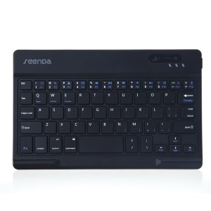SEENDA IBK-08 Universal Bluetooth Keyboard Support Android iOS Windows OS - Black