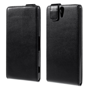 Vertical Leather Magnetic Case for Sony Xperia C5 Ultra E5553 / Ultra Dual E5533