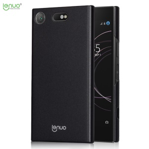 LENUO Leshield Series for Sony Xperia XZ1 Compact Silky Touch Light Thin PC Hard Case - Black