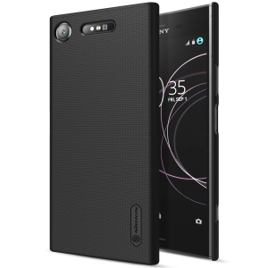 NILLKIN Super Frosted Shield Hard PC Back Case for Sony Xperia XZ1 - Black