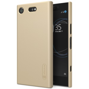 NILLKIN for Sony Xperia XZ1 Compact Super Frosted Shield Plastic Mobile Phone Case - Gold