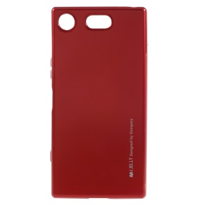 MERCURY GOOSPERY i JELLY TPU Cases for Sony Xperia XZ1 - Red