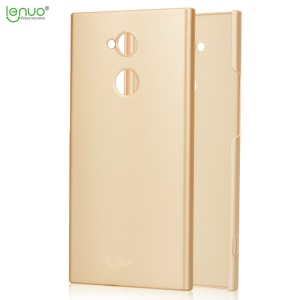 LENUO Leshield Series for Sony Xperia XA2 Ultra Silky Touch Hard Plastic Phone Casing - Gold