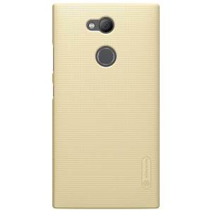 NILLKIN for Sony Xperia L2 Super Frosted Shield PC Mobile Shell - Gold