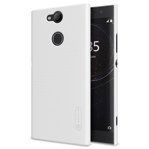 NILLKIN Super Frosted Shield Hard PC Back Cover for Sony Xperia XA2 - White