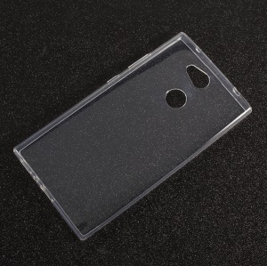 Drop-proof Clear TPU Mobile Phone Cover Case for Sony Xperia L2 - Transparent
