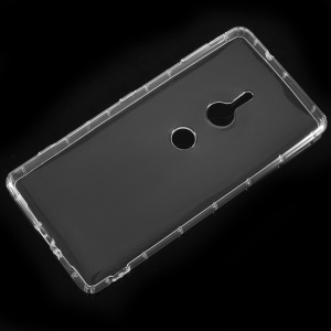 Clear TPU Mobile Phone Lightweight Case for Sony Xperia XZ2