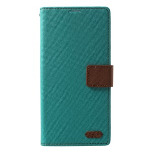 ROAR KOREA Twill Leather Wallet Mobile Casing for Sony Xperia XA2 Ultra - Green