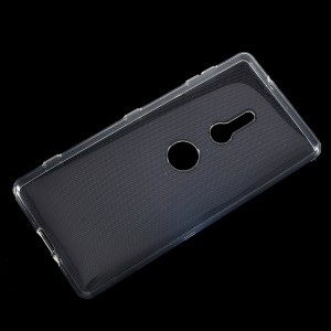 10PCS/Set Clear TPU Mobile Phone Case with Non-slip Inner for Sony Xperia XZ2 - Transparent