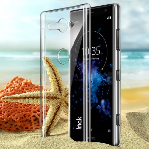 IMAK Clear Wear-resistant Hard Plastic Case for Sony Xperia XZ2 Compact