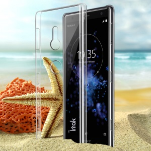 IMAK Clear Wear-resistant Hard Shell Case for Sony Xperia XZ2