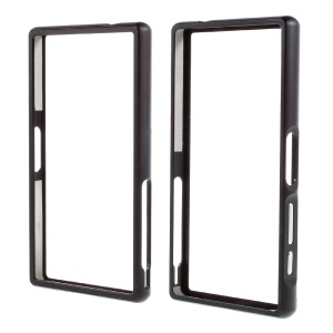Slide-on Protective Metal Bumper for Sony Xperia Z5 Compact - Black