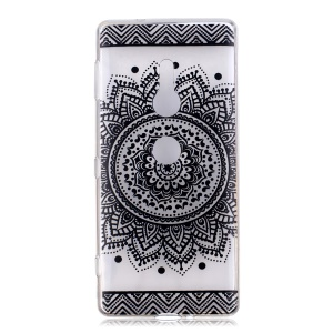 For Sony Xperia XZ2 Pattern Printing Soft TPU Protective Shell - Loutus